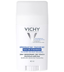 24-hour deodorant free from aluminium salts - Stick