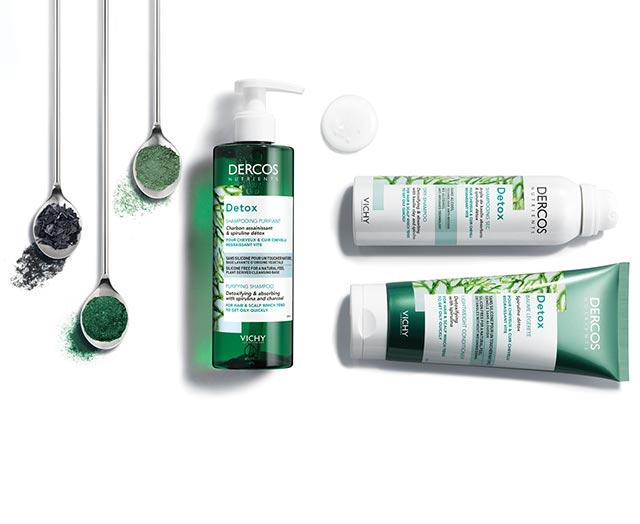 Detox Shampoo DERCOS NUTRIENTS - Vichy Laboratoires: cosmetics