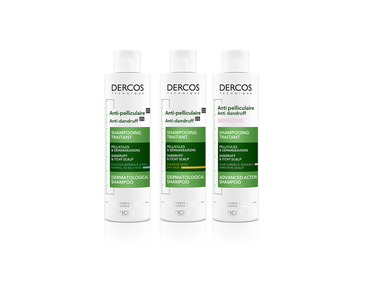 Anti-Dandruff DS dermatological shampoo - dandruff & itchy scalp – dry hair