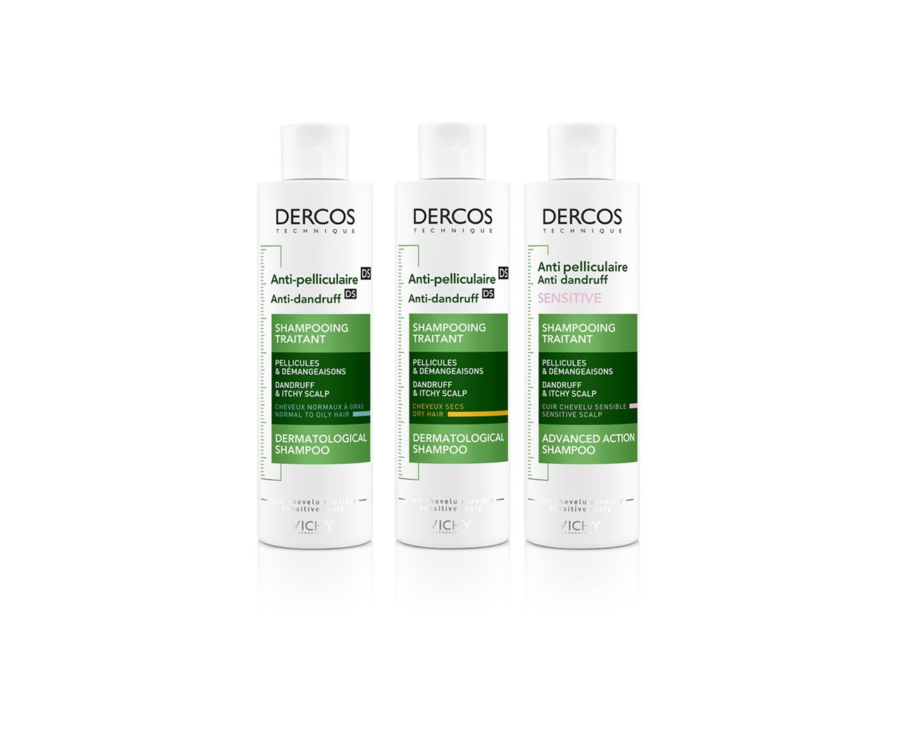 Anti-Dandruff DS dermatological shampoo - dandruff & itchy scalp – normal to oily hair