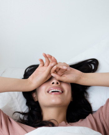 What's the secret to waking up with beautiful skin?